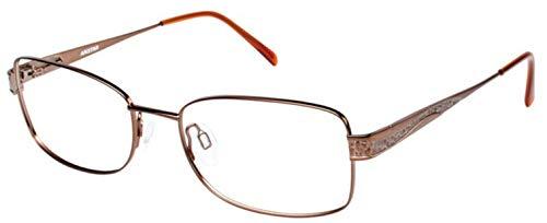 Aristar By Charmant Eyeglasses AR16334 AR/16334 535 Brown Optical Frame 54mm