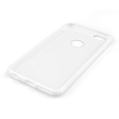 Caseflex Gel Cover for Apple iPhone 6/6s White Silicone [AP-GA02-Z559]