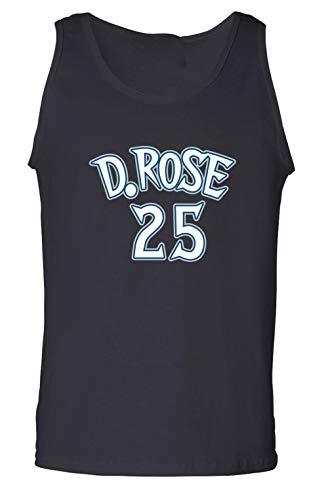 Prospect Shirts Black Minnesota Rose D Rose Logo Tank for sale  Delivered anywhere in USA