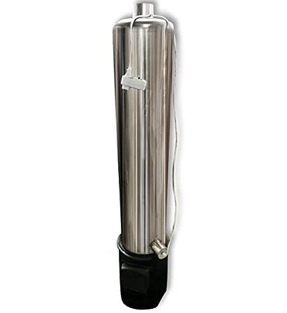 Titan Agua Caliente eléctrico (universal) Acero Inoxidable + Calefacción