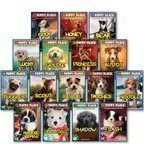 The Puppy Place Set, Books 1-16: Goldie, Snowball, Shadow, Rascal, Buddy, Flash, Scout, Patches, Noodle, Pugsley, Princess, Maggie and Max, Cody, Honey, Bear, and Lucky (16-Book Set) (The Puppy Place Lucky)