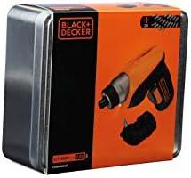 BLACK+DECKER CS3652LCAT-QW - Atornillador 3.6V, batería 1.5Ah ...