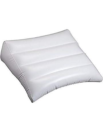 Colcha de cama hinchable con diseño de bandera de Argy, color blanco, con soporte