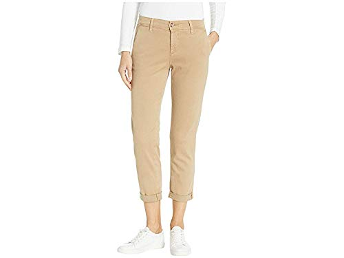 AG Adriano Goldschmied Women's Caden Tailored Trouser, Sulfur Toasted Almond, 30