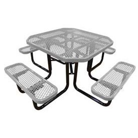 46 Inch Octagonal Picnic Table - 46