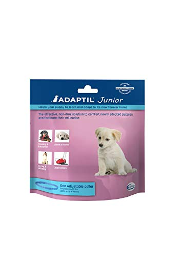 Adaptil Junior Collar for Puppies (<35 lbs) - Constant Calming and Comfort Everywhere