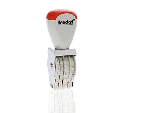 Timbro datario cifre 3 mm 1004 by Trodat Athena