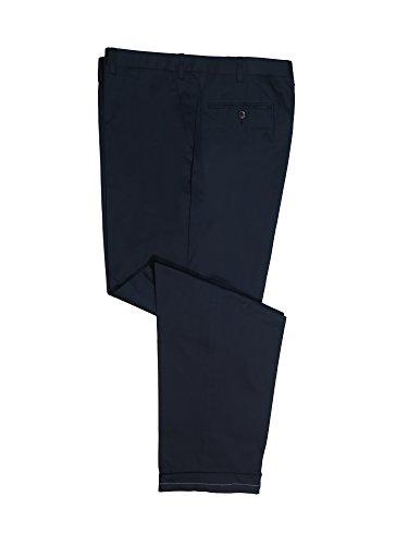 Brioni Ortisei Navy Lightweight Wool Dress Pants 44 -