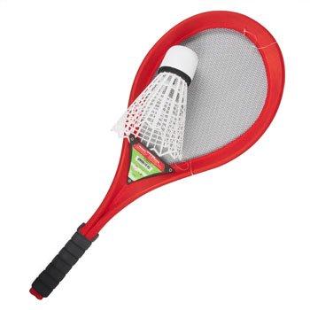 DollarItemDirect BADMINTON OVERSIZE RACKET W/ JUMBO SHUTTLECOCK FOAM/STICKER, Case Pack of (Jumbo Badminton Set)