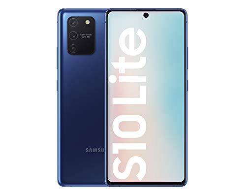 Samsung Galaxy S10 Lite – Smartphone de 6.7″ FHD+ (4G, 8GB RAM, 128GB ROM, cámara trasera 48MP+12MP(UW)+5MP(Macro)+5MP, cámara frontal 32MP, Octa-core Snapdragon8150), Prism Blue [Versión española]