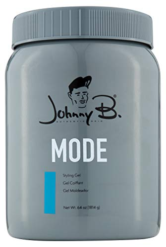 Johnny B Mode Styling Gel (64 ounce) (Best Hair Gel Brands For Men)