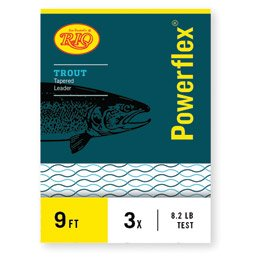 Rio: Powerflex Trout Leaders, 3 Pk, 9ft 7X by Rio