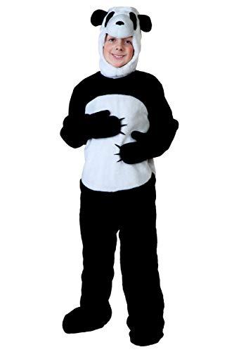 Fun Costumes Big Boys' Panda Jumpsuit Faux Fur Costume Large -
