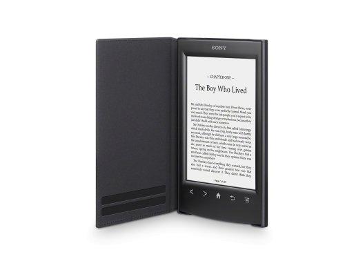 Sony PRSA-SC22 Leder Schutzhülle für E-Book PR-TS2 Reader schwarz