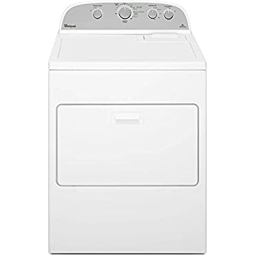 Whirlpool WGD5000DW WGD5000DW Gas 7.0 Cu. Ft. White High Efficiency Top Load Dryer