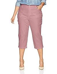 Eletina lee Eletina kgirt Women S Plus Size Amanda Capri Jeans
