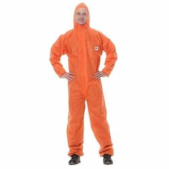 3M 4515 - Traje desechable (talla grande), color naranja (Cs20 ...