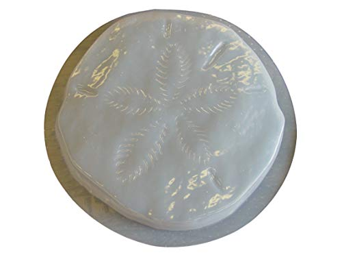 Sand Dollar 13 Inch Concrete Plaster Stepping Stone Mold 1255
