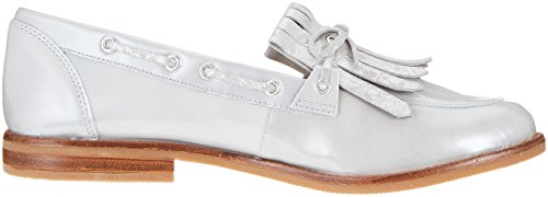 Caprice Damen 24208 Slipper Grau (lt Gray Pat Co 234)