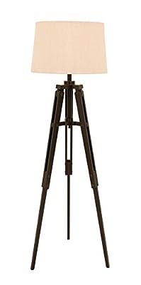 Deco 79 24484 Wood Tripod Floor Lamps