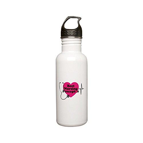 CafePress - Best Nursing Preceptor Stainless Water Bottle 0 - Stainless Steel Water Bottle, 0.6L Sports Bottle