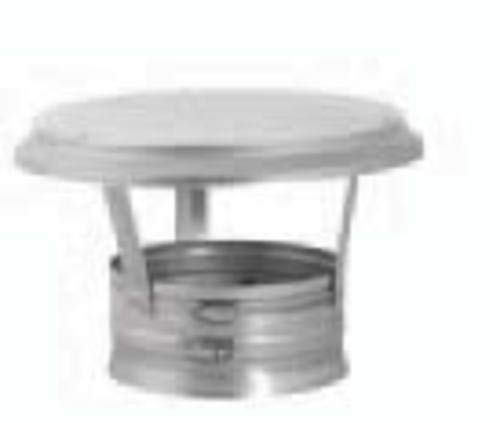 (Copperfield 68246 6 Inch Simpson Dura-Vent DuraFlex Cap With Band Connection)