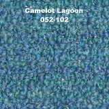 (Camelot 88% Acrylic Boucle Throw with Fringe Lagoon)