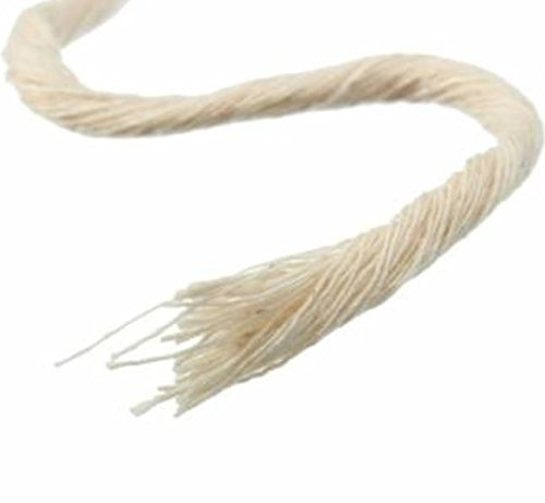 10m Braided Cotton Core Candle Wick by ShopIdea