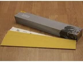 E-Weight Backing P40-Grit Mirka Abrasives 23-364-040 Mirka 23 Series Gold 2-3//4 x 16-1//2 PSA Sheet