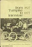From Turnpike to Interstate, Derry Historical Research Committee, 0914016474