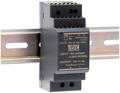 Din-Rail Fuente de alimentación 36W 24V 1,5A ; MeanWell HDR-30-24