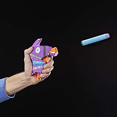 Fortnite Llama Nerf Microshots Dart-Firing Toy Blaster & 2 Official Elite Darts: Toys & Games