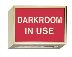 Illuminated Darkroom Sign - Darkroom In Use by Colortrieve