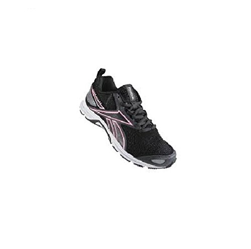 Reebok Triplehall 5.0, Chaussures de Running Femme Noir - Negro (Black / Coal / White / Poison Pink)