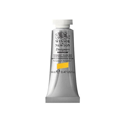 W&N Designers Gouache 14Ml Perm Yellow Deep (Winsor & Newton Designers Gouache)