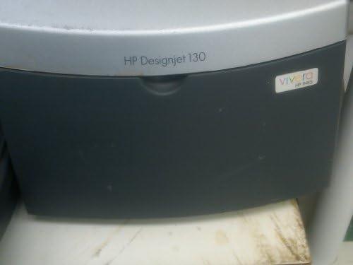 HP Impresora HP Designjet 130r - Impresora de gran formato (PCL 3 GUI RGB contone de 24 bits, Black, cian, magenta, amarillo, cian claro, magenta claro, 625 mm, 5 mm, Inyección térmica