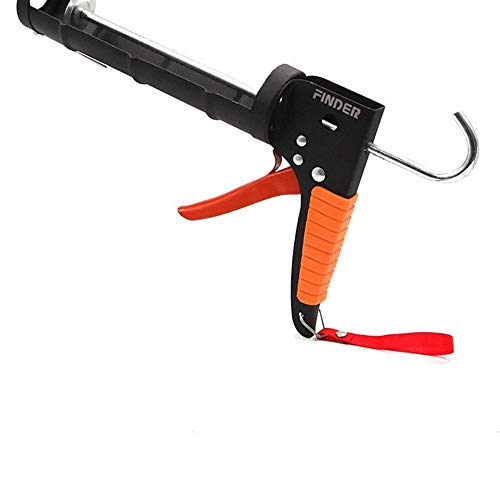 Baugger Glatte Stange Drehrahmen Kartuschenpistole – Manual Caulking Gun – Manual Caulking Gun Scraper Glass Glue…