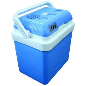 Electric DC/AC Hot or Cold Cool Box Blue 24 Litre...