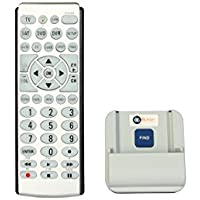 Big Button Universe 4-Device Universal Remote Control with Stand / Locator