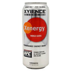 XYience Xenergy Drinks Mango Guava 16 oz (12 Cans)