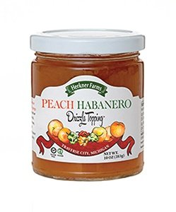 Herkner Farms Peach Habanero Fruit Drizzle (Fruit Topping)
