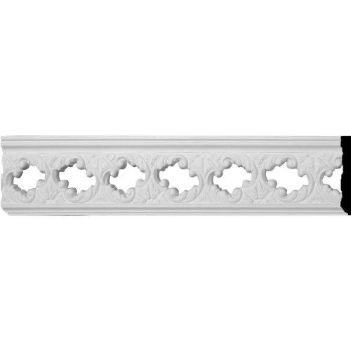Ekena Millwork PIR02X00JA 2 3/4-Inch H x 3/8-Inch P x 78-Inch L Jackson Pierced Moulding (Wood Pierced Molding)