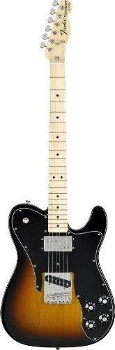 - Fender Classic Series '72 Telecaster Custom, Maple Fretboard - 3-Color Sunburst