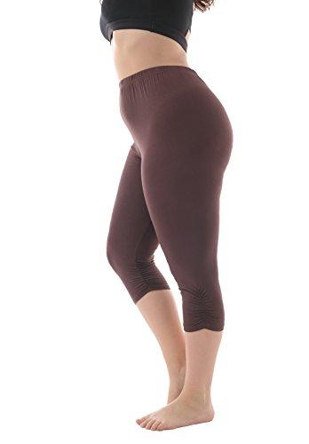 ZERDOCEAN Womens Stretchy Frilly Leggings