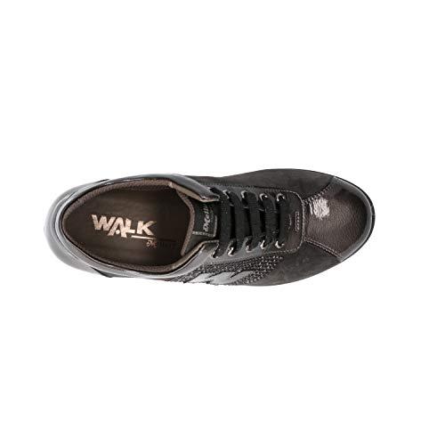 Scarpedonna Grigio Melluso Sneakers Zeppa R25828 UnWUfxa