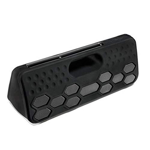 GLgl TWS al Aire Libre Impermeable Bluetooth Altavoz, Alta Potencia 40W subwoofer Altavoz de música estéreo con micrófono...