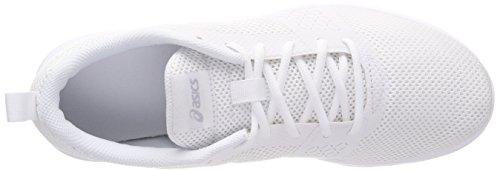 Zapatillas Mx whitewhitesilver Para Mujer Blanco Running Kanmei De Asics 0101 E56q8