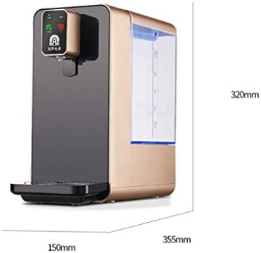 KUANDARGG 5L Instant Hot Water Dispenser, Electric Water Dispenser, 3S Instant Hot / 6 Temperature/Child Safety Design