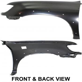 2000 Toyota Tundra Fender Flares (Toyota TUNDRA 00-06 FENDER Driver Side, w/ Flare Holes, Standard/Extended Cab)