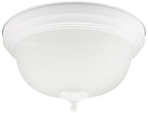 Livex Lighting 9045-13 1 Light Indoor Ceiling Mount, Textured White
